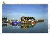 Fishing Boats At Whitstable Harbour 03 Carry-all Pouch
