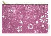Floral Doodles Carry-all Pouch