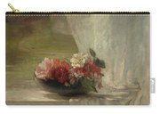 Flowers On A Window Ledge Carry-all Pouch