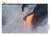 Flowing Pahoehoe Lava Carry-all Pouch