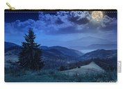 Forest On A Steep Mountain Slope Carry-all Pouch