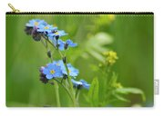 Forget-me-not. Carry-all Pouch