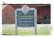 Fredericksburg Rail Station Carry-all Pouch