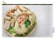 Fresh Crab Seafood Cream Mousse With Toast Tapas Snack Carry-all Pouch