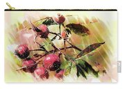 Fruit Of The Wild Rose Carry-all Pouch