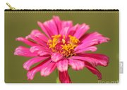 Fuchsia Pink Zinnia From The Whirlygig Mix Carry-all Pouch