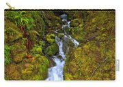 Streaming In The Olympic Rainforest Carry-all Pouch