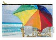 Beach Umbrella By Marilyn Nolan-johnson Carry-all Pouch