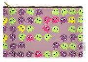 Game Monsters Seamless Generated Pattern Carry-all Pouch