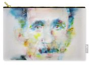 George Orwell - Watercolor Portrait Carry-all Pouch