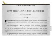 Gettysburg Address, 1863 Carry-all Pouch