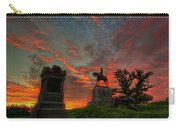 Gettysburg East Cemetery Hill Sunrise Carry-all Pouch