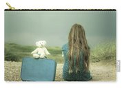 Girl In The Dunes Carry-all Pouch by Joana Kruse