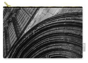 Glasgow Cathedral Bw Carry-all Pouch