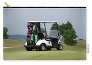 Golfing Golf Cart 04 Carry-all Pouch
