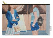 2 Gossip Girls Carry-all Pouch