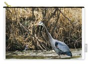 Great Blue Heron Fishing Carry-all Pouch