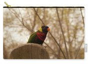 Green Naped Lorikeet Carry-all Pouch
