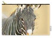 Grevys Zebra, Samburu, Kenya Carry-all Pouch