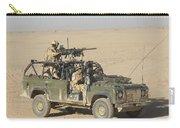 Gurkhas Patrol Afghanistan In A Land Carry-all Pouch