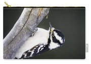 Hairy Woodpecker Carry-all Pouch