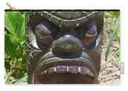Hawaiian Tiki God Ku Carry-all Pouch