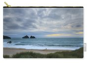 Holywell Bay Sunset Carry-all Pouch