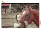 Horse Crazy Carry-all Pouch