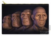 Human Evolution Carry-all Pouch