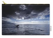 Humpback Whale Tail Maui Hawaii Carry-all Pouch