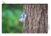Huthatch Bird  Nut Pecker In The Wild On A Tree Carry-all Pouch