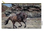 Icelandic Black Stallion, Iceland Carry-all Pouch