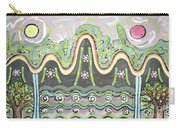 Ilwolobongdo Abstract Landscape Painting2 Carry-all Pouch
