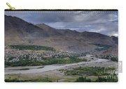 Indus River And Kargil City Leh Ladakh Jammu Kashmir India Carry-all Pouch