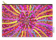 Infinity Star Flower An Abstract Fineart Expression By Navinjoshi At Fineartamerica.com Colorful Spe Carry-all Pouch