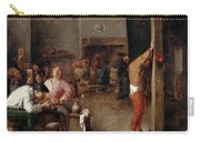 Interior Of A Tavern Carry-all Pouch