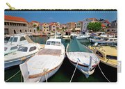 Island Of Prvic Harbor And Waterfront View In Sepurine Village Carry-all Pouch