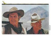 Jack Palance And Lee Marvin Monte Walsh Set Old Tucson Arizona 1969 Carry-all Pouch