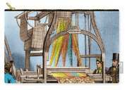 Jacquard Loom For Weaving Textiles Carry-all Pouch