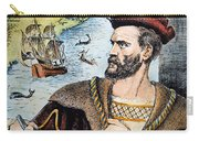Jacques Cartier (1491-1557) Carry-all Pouch