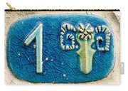 Jaffa, Zodiac Street Sign  Carry-all Pouch