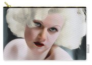 Jean Harlow, Vintage Movie Star Carry-all Pouch