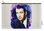 Jimmy Stewart, Vintage Movie Star Carry-all Pouch