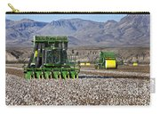 John Deere Cotton Pickers Harvesting Carry-all Pouch