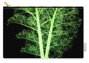 Kale, Brassica Oleracea, X-ray Carry-all Pouch