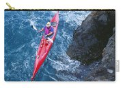 Kayaking Along Coastline Carry-all Pouch