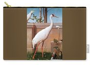 kb Marks Henry-Indian Crane Bullfinch and Thrush Henry Stacy Marks Carry-all Pouch