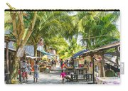 Koh Rong Island Main Village Bars In Cambodia Carry-all Pouch