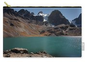 Laguna Chiar Khota In Condoriri Mountains Carry-all Pouch