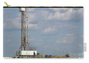 Land Oil Drilling Rig On Oilfield Carry-all Pouch